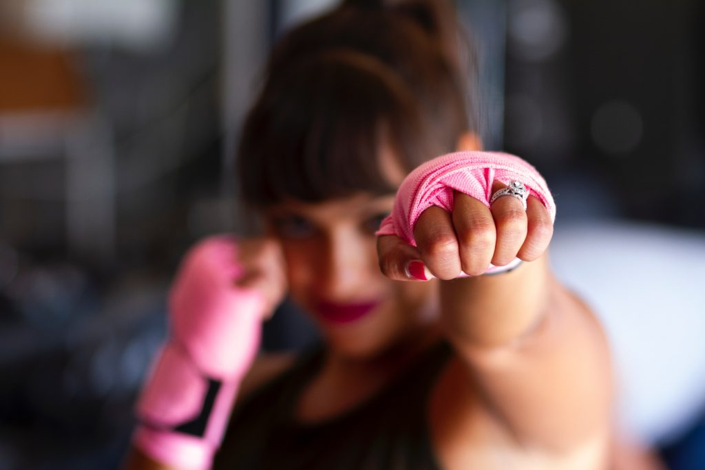 Fighting talk – arm yourself in the battle against depression. 9